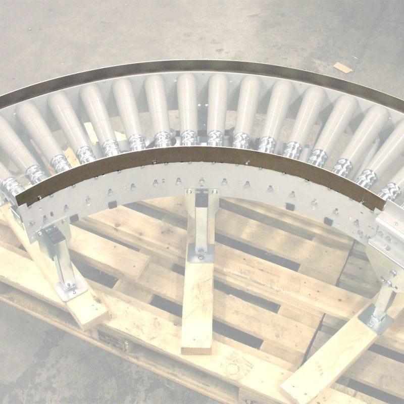MH Modules AX100 Fast sidostyrning kurva