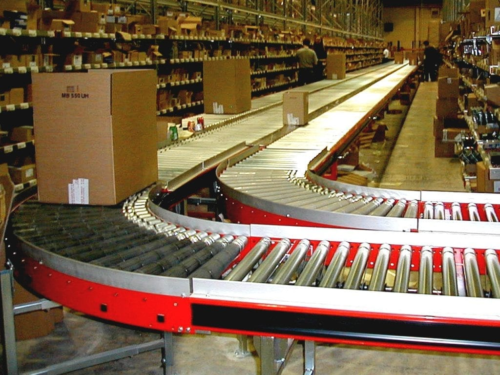 MH Modules AX100 Rullbana med kurvor