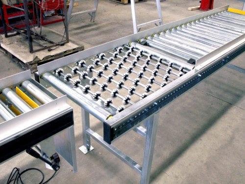 MH Modules AX100 Roller Conveyor Wheels