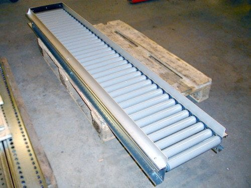 MH Modules AX100 Roller Conveyor Unpowered With Plastic Rolls