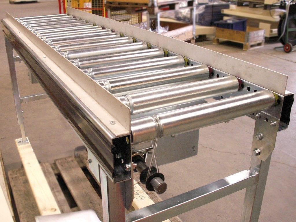 MH Modules AX100 Rulllbana med sidostyrning