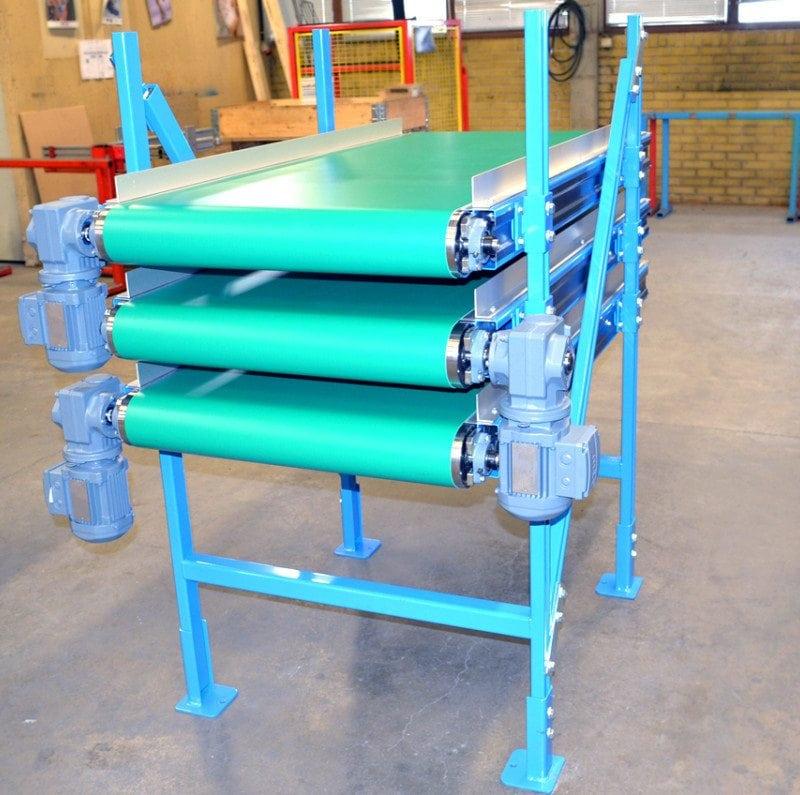 MH Modules BT110 Belt Conveyor In 3 Levels