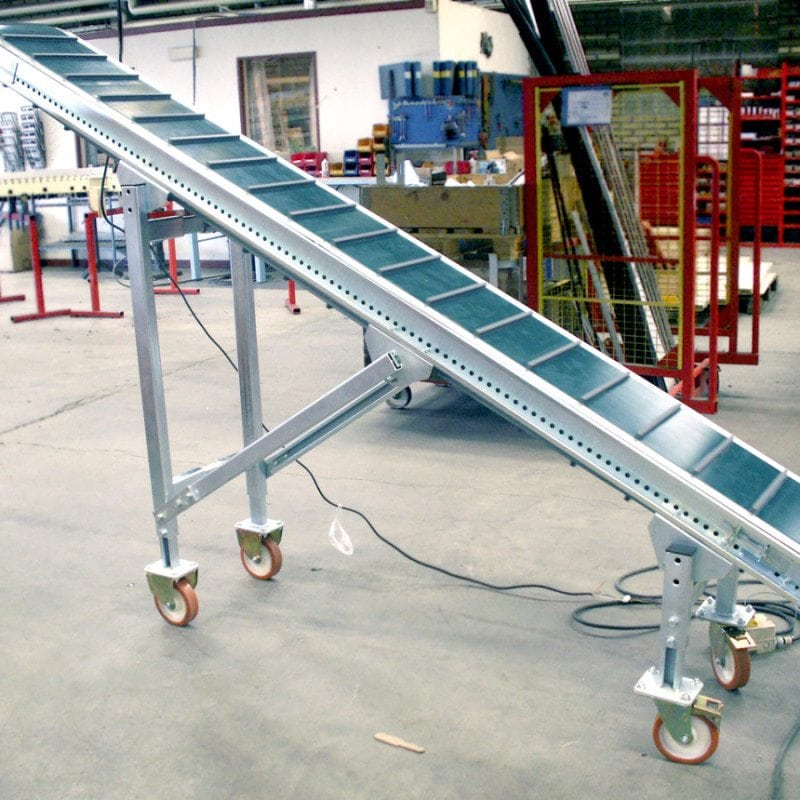 MH Modules BT110 Belt Conveyor With Carrier On Wheels