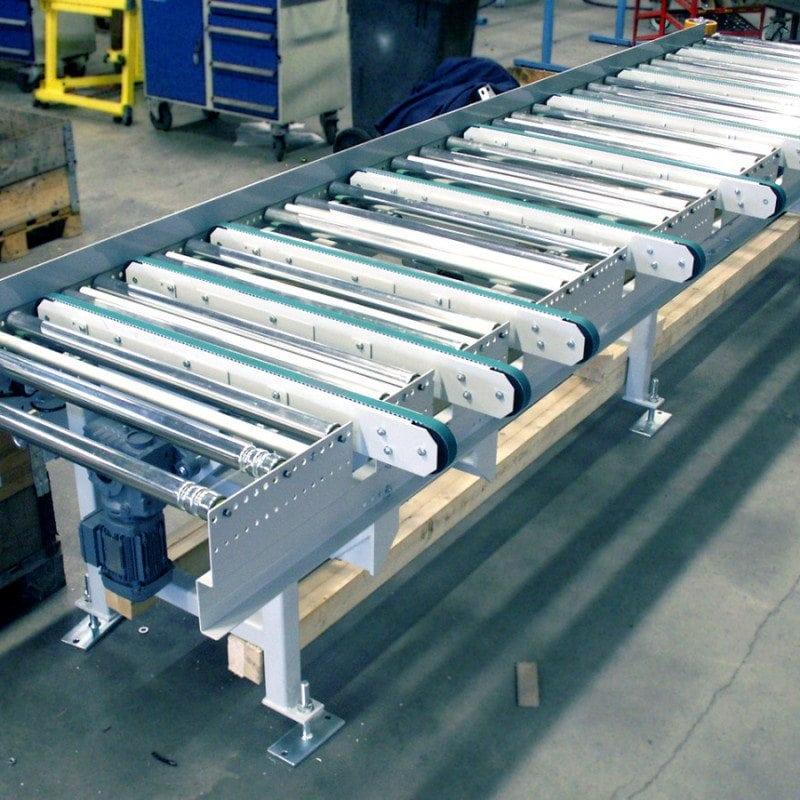 MH Modules FR100 Höj o sänkbar rullbana med kuggremsväxel
