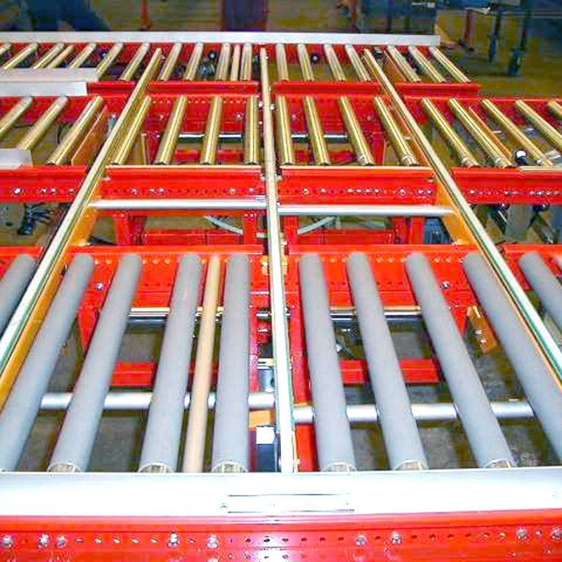MH Modules FR100 Vinkelväxel kuggrem över 3 rullbanor