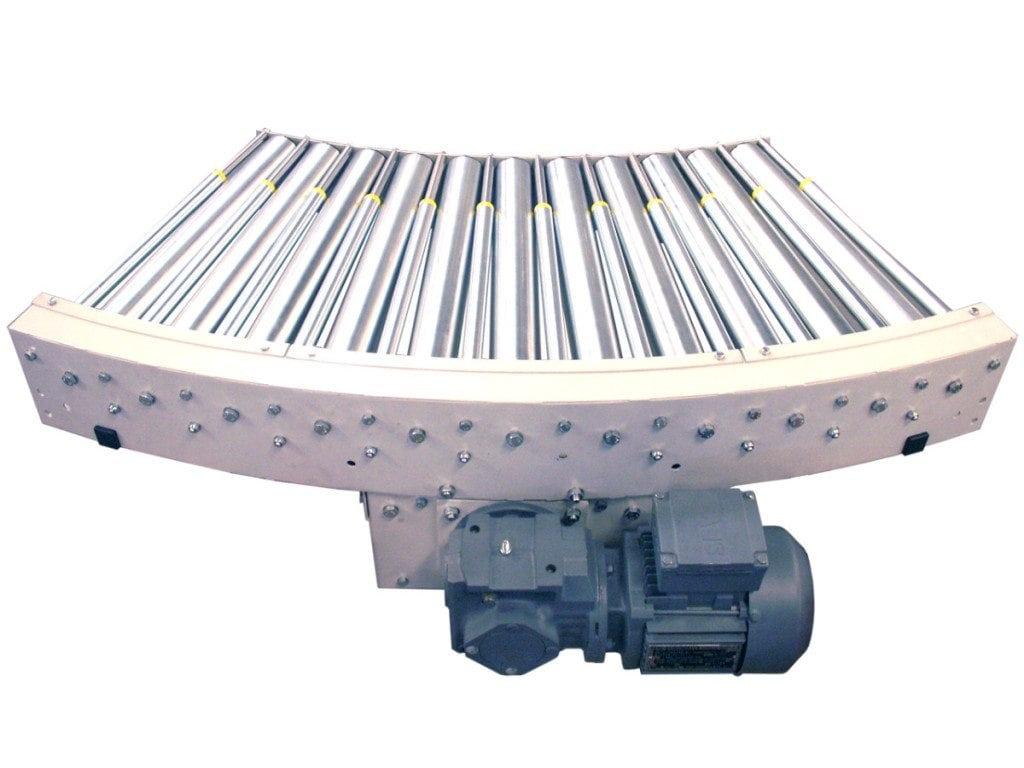 MH Modules KE500 Kurva 45 grader med stödrullar