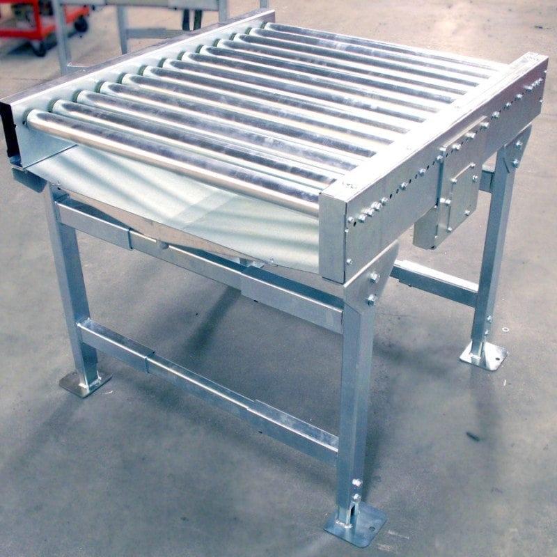 MH Modules KE500 Roller Conveyor With Drip Plate