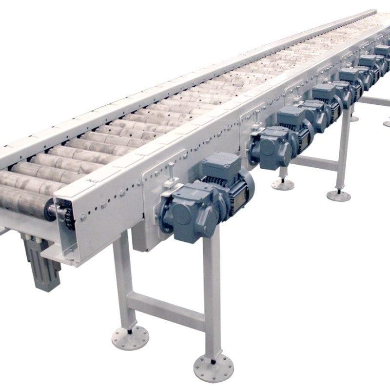 MH Modules KE500 Roller Conveyor With Hardened Rolls