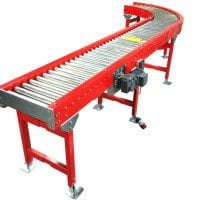 MH Modules KE500 Roller Conveyor With Curve 90Degree