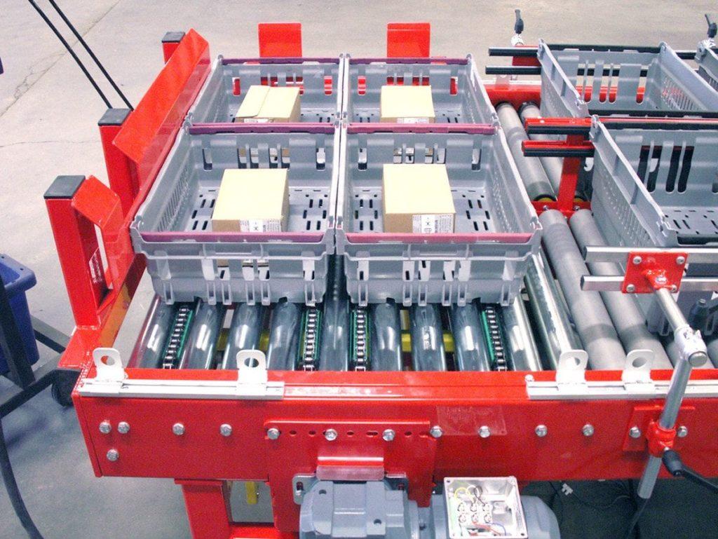 MH Modules KE500 Dubbel vinkelväxel för positionering av backar