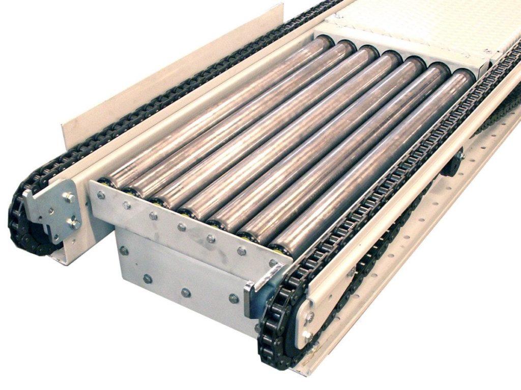MH Modules KE500 Höj och sänkbar rullbana för halvpall