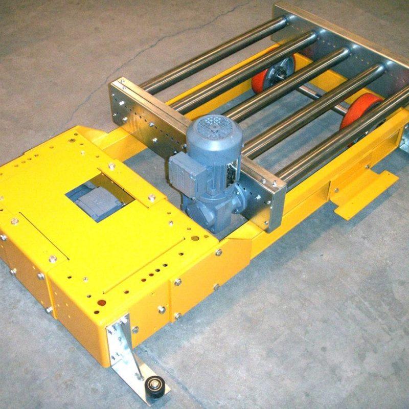 MH Modules KE500 Lågbyggd transfervagn med rullbana