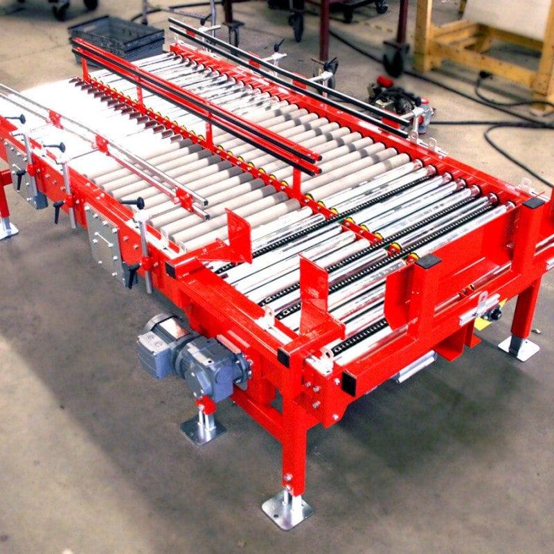 MH Modules KE500 Roller Conveyor With Double Transveyor