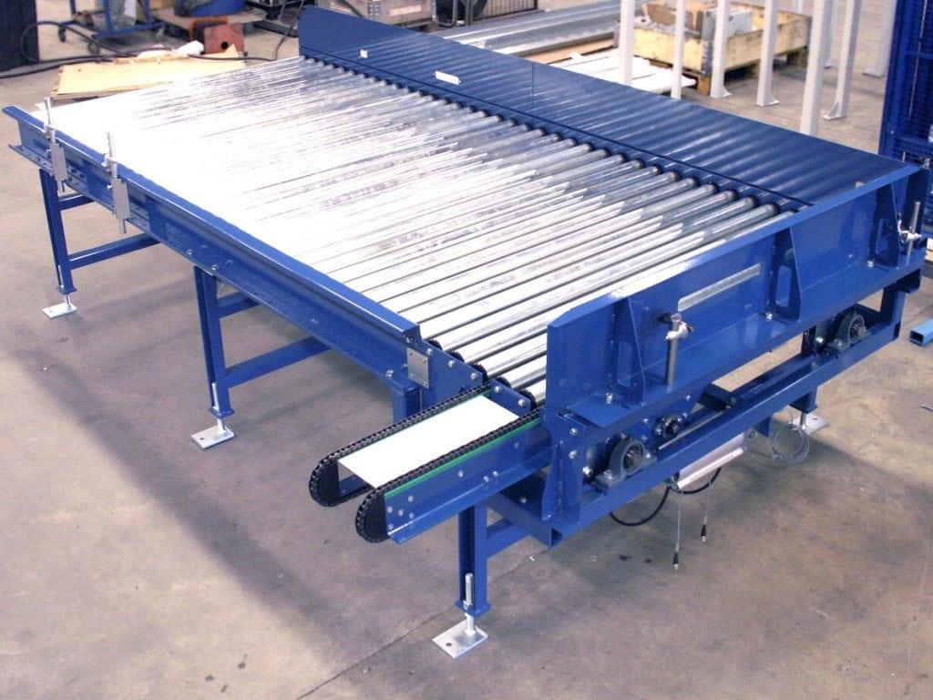 MH Modules KE500 Rullbana med vinkelväxel och fotoceller med reflexer