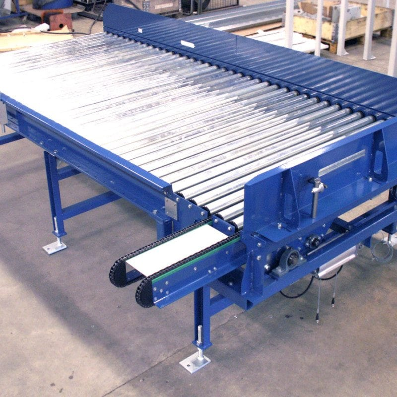 MH Modules KE500 Roller Conveyor With Transveyor