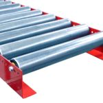 MH Modules PA1500 Gravity Roller Conveyor With L Frame