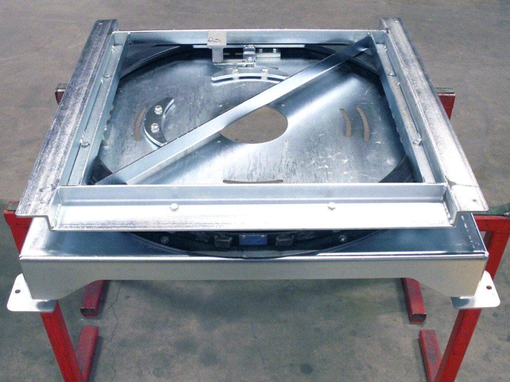 MH Modules PA1500 Odriven vridmodul med fjädrande stopp
