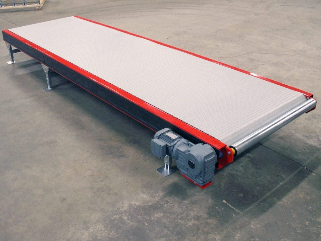 MH Modules PL1500 Plastic Belt Conveyor With Support Roller