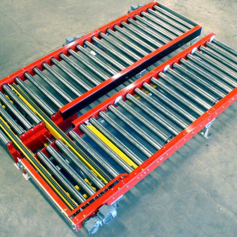 MH Modules-PA1500 Dubbel vinkelväxel för halvpall