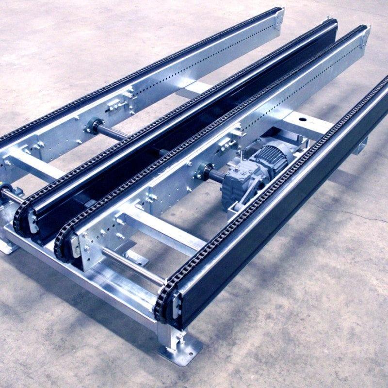 MH Modules PA1500 4 strängad tiltbar kedjetransportör