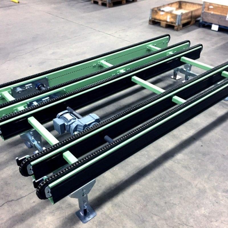 MH Modules PA1500 5 strängad kedjetransportör