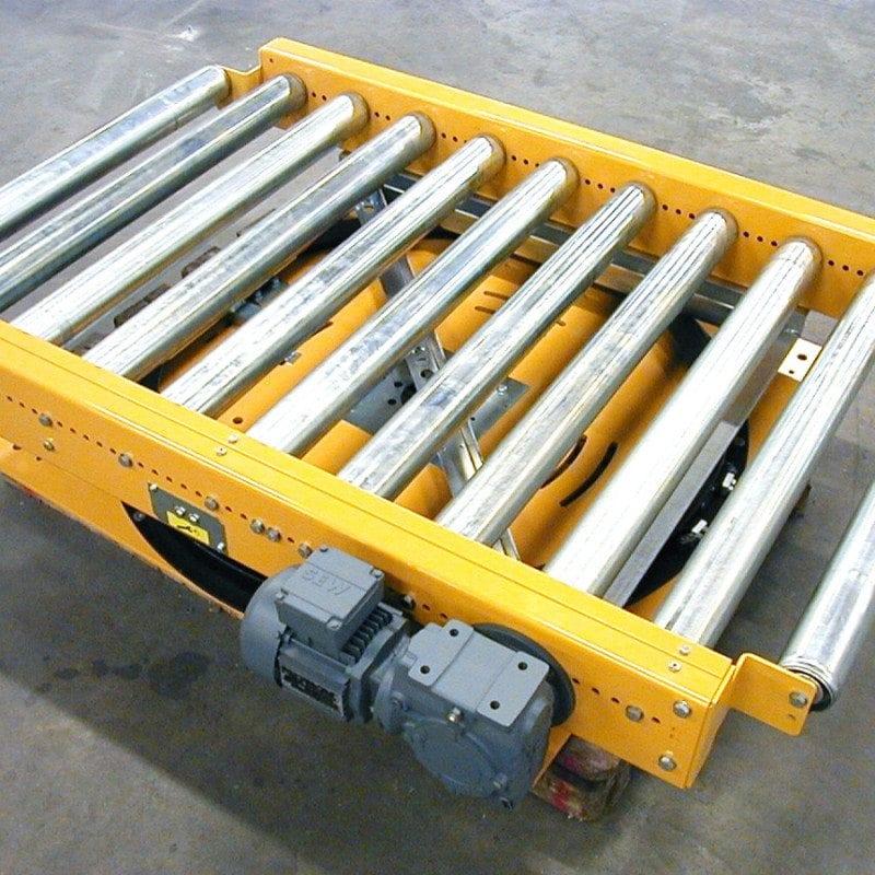 MH Modules PA1500 Driven rullbana på lågbyggd odriven vridmodul