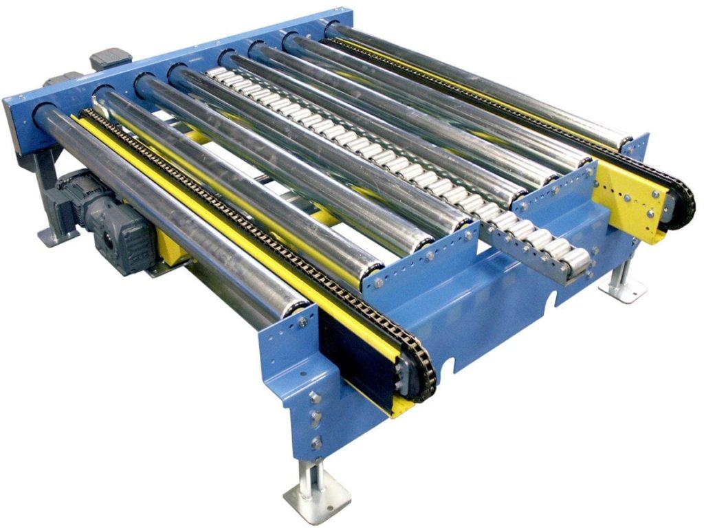 MH Modules PA1500 Enkel vinkelväxel med rullist som mittstöd