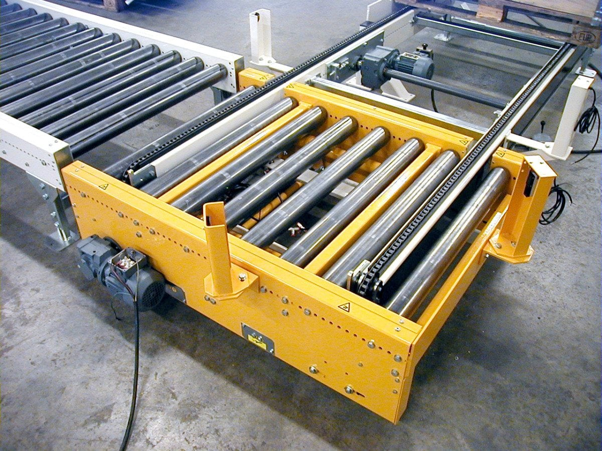 MH Modules PA1500 Lifting And Lowering Roller Conveyor