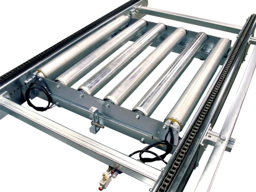 MH Modules PA1500 Höj och sänkbar rullbana slang i kedjetransportör