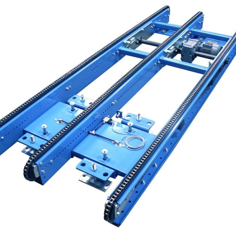 MH Modules PA1500 Kedjetransportör 3strängad tiltbar lågbyggd