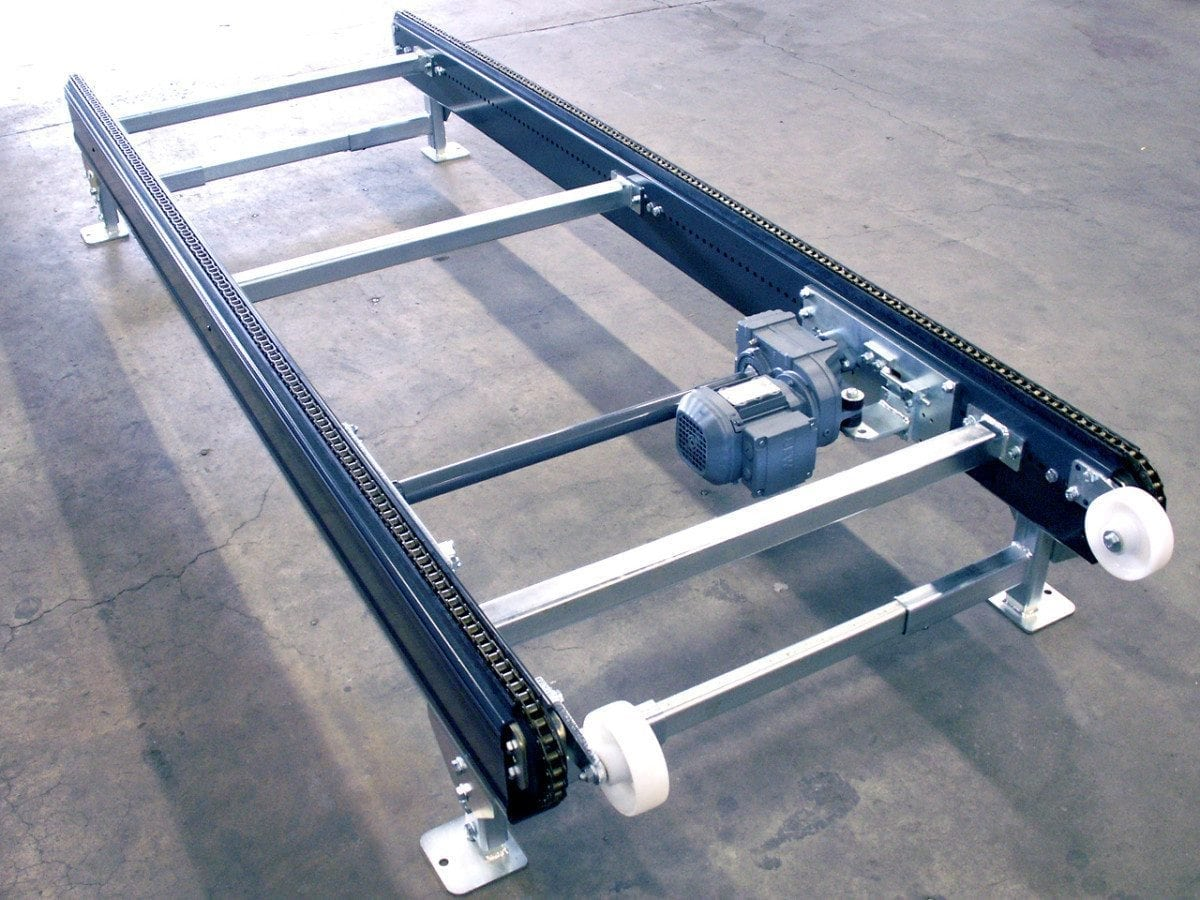 MH Modules PA1500 Chain Conveyor With Supporting Wheel