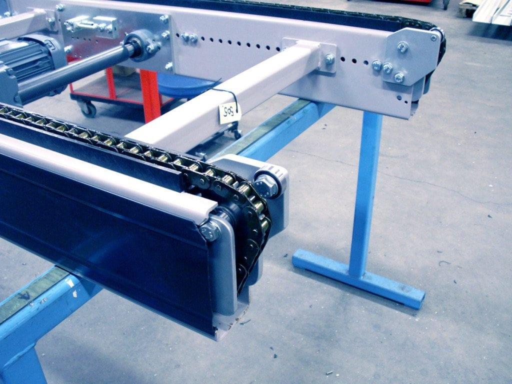 MH Modules PA1500 Kedjetransportör brytände med liten radie