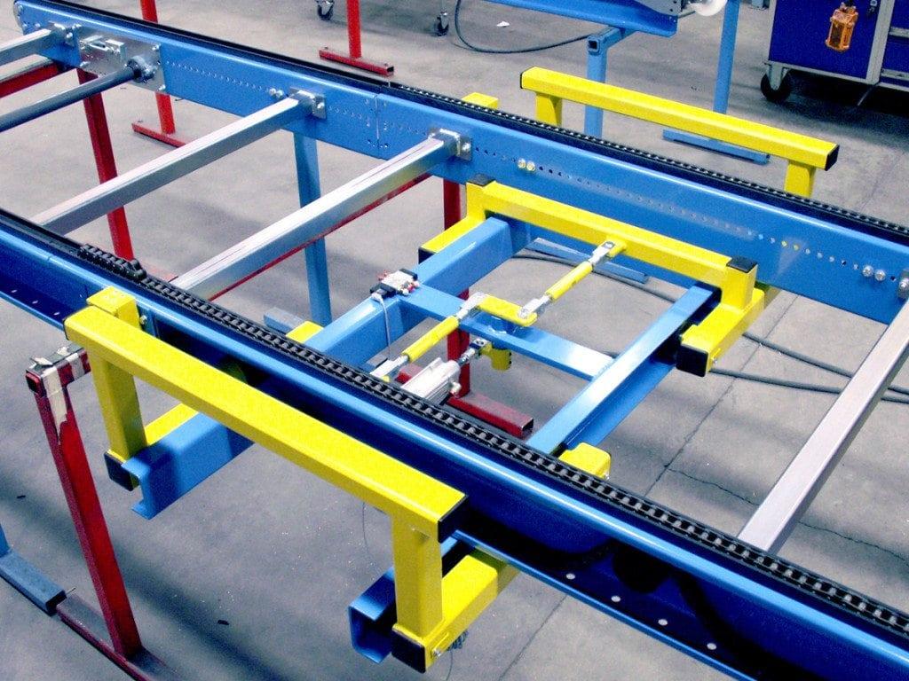 MH Modules PA1500 Chain Conveyor Pneumatic Centering Unit