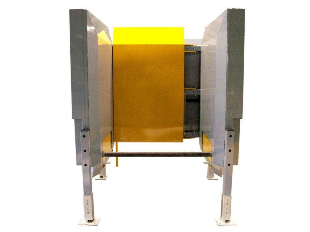 MH Modules PA1500 Pallmagasin med manuellt ställbar rygg