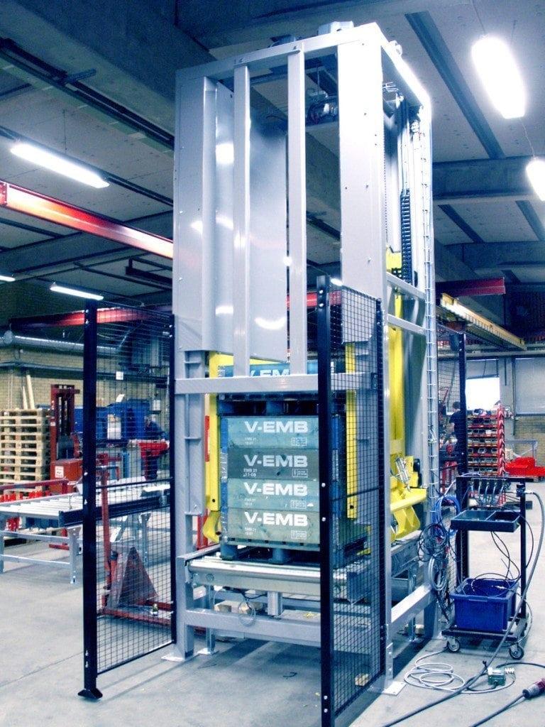 MH Modules PA1500 Pallyftare för nedstapling av pall Lyftkapacitet 2000kg
