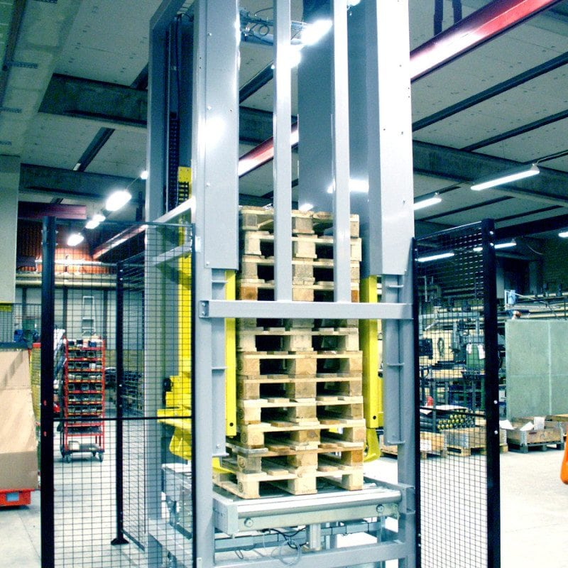 MH Modules PA1500 Pallet Stacker Elevator