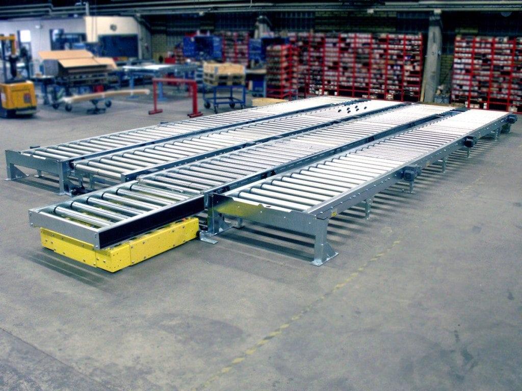 MH Modules PA1500 Rullbanor och transfervagn