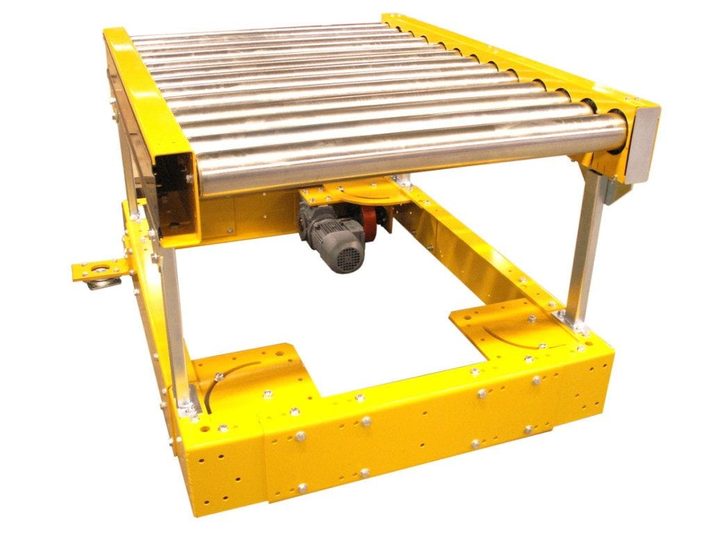 MH Modules PA1500 Pivot Roller Conveyor