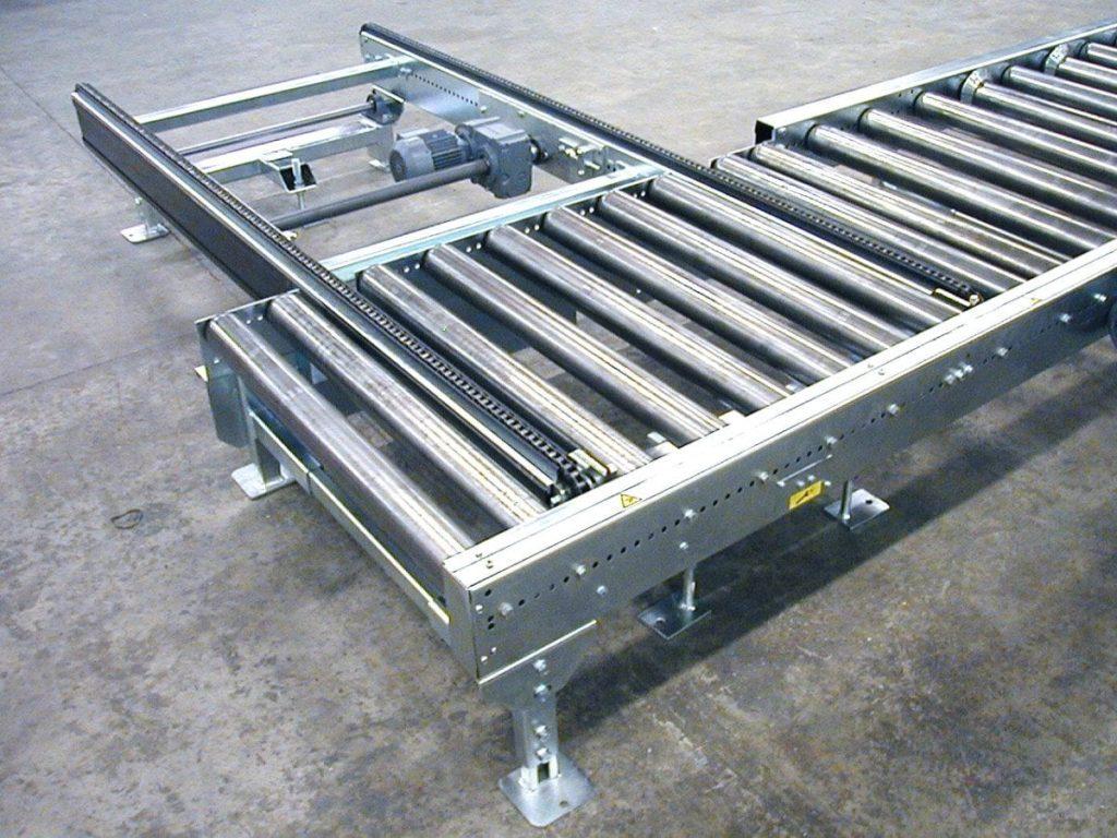 MH Modules PA1500 Tiltable Chain Conveyor