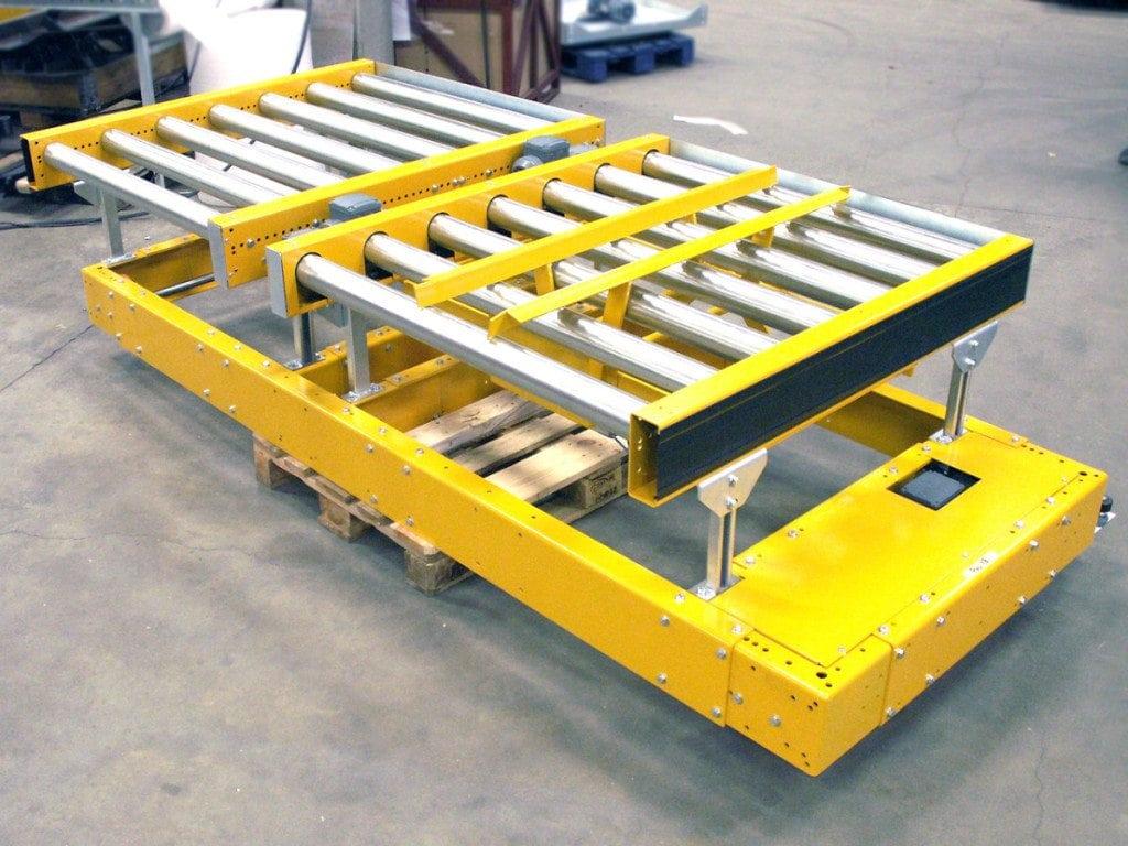 MH Modules PA1500 Transfervagn dubbel Pallcentrering