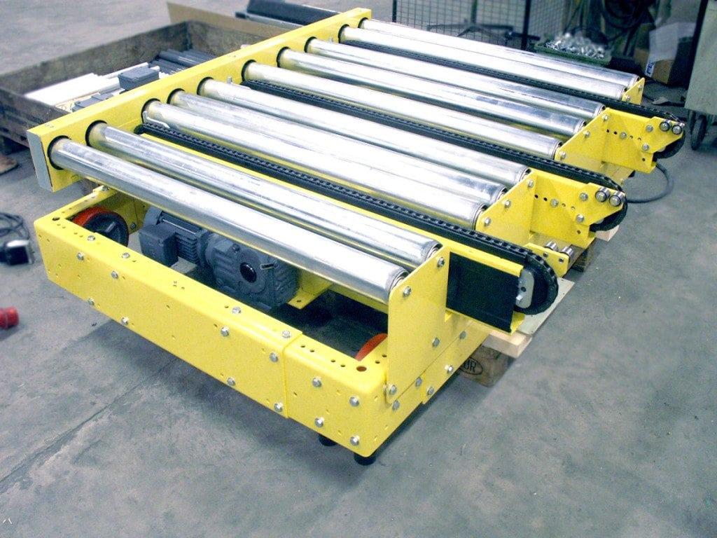 MH Modules PA1500 Transfervagn med 3 strängad vinkelväxel Lågbyggd