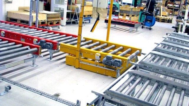 MH Modules PA1500 Transfervagn miljöbild