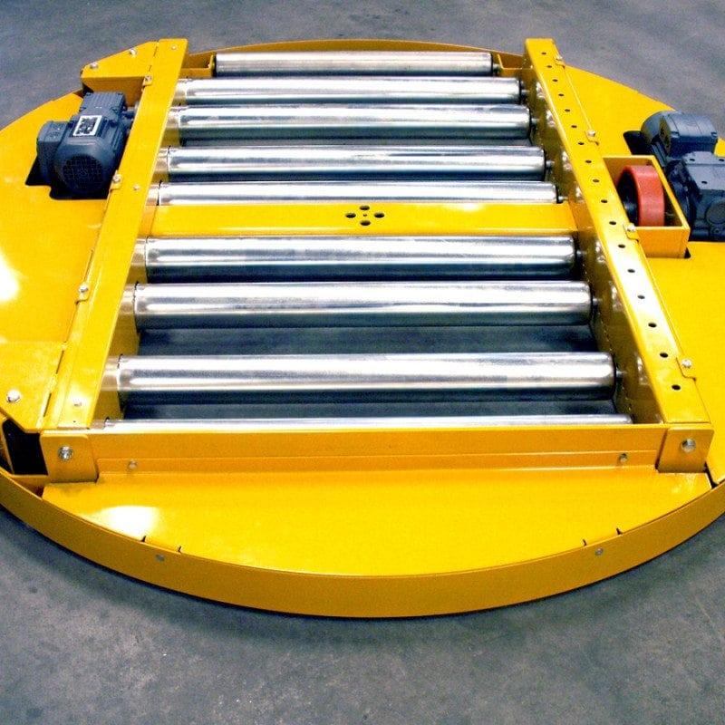 MH Modules PA1500 Vridbar rullbana lågbyggd på hjul