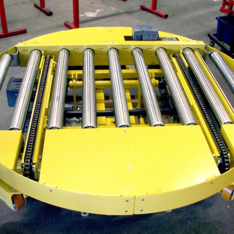 MH Modules PA1500 Vridbar rullbana på hjul med vinkelväxel