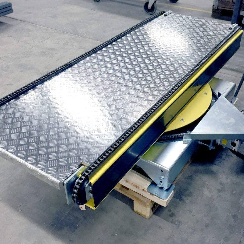 MH Modules PA1500 Vridmodul med lång kedjetransportör