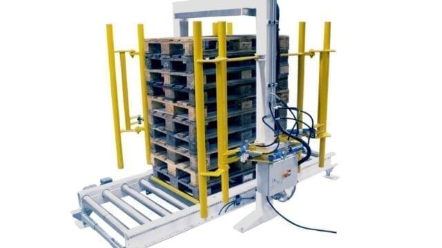 PA1500 Pallet stack aligner