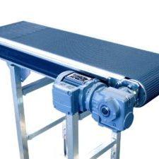 MH Modules BT110 Bandtransportör Sidomonterad motor och med griptoppband