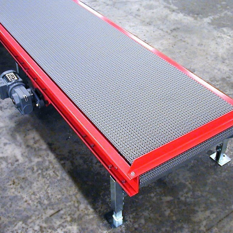PL100 Plastic Belt Conveyor
