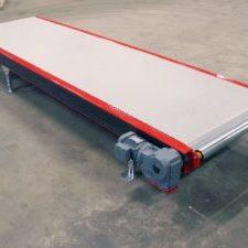 MH Modules PL1500 Plastlamelltransportör med stödrulle